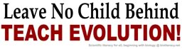 Teach Evolution